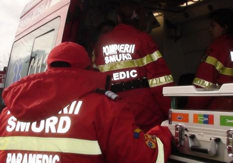 Două fetiţe au fost lovite de dubiţă pe DN1, în Lugaşu de Jos. Şoferul era beat şi a plecat de la locul accidentului