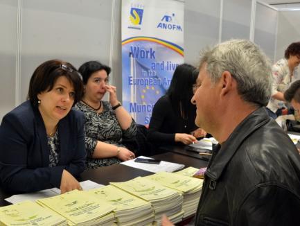 AJOFM Bihor: Rata şomajului în judeţ este de 1,35%