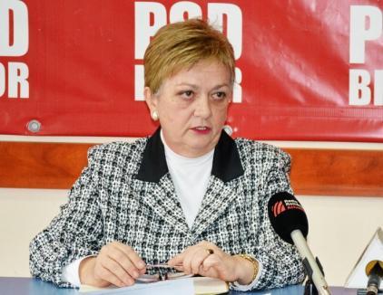 Deputatul PSD Sonia Drăghici cere bani pentru promovarea sănătăţii în Bihor
