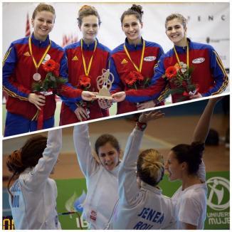 Bianca Benea a cucerit medalia de bronz cu echipa României, la Cupa Mondială de spadă U20 din Spania