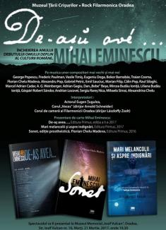 Spectacol cu Florian Chelu, Călin Pop şi AG Weinberger, de Ziua Internaţională a Poeziei