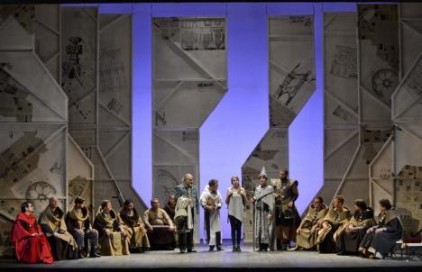 Spectacol de operă despre Sfântul Ladislau, pe scena Teatrului