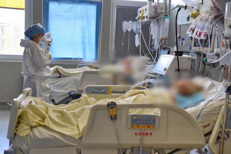 Record de decese Covid în Bihor pentru valul IV: au murit 11 oameni, între care doi soți