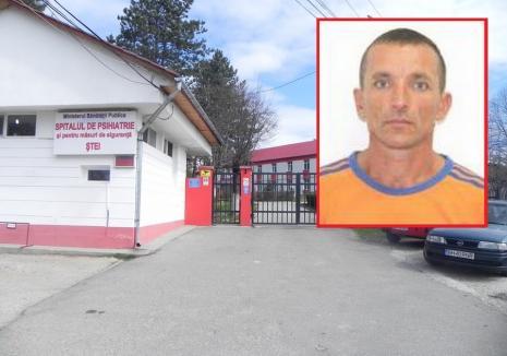 Bărbatul care a evadat de la Spitalul de Psihiatrie din Ștei a fost prins de polițiști și jandarmi în Băile Felix