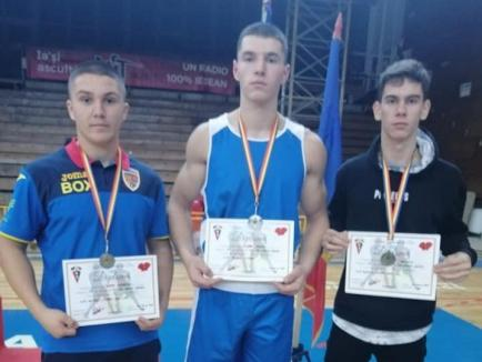 Trei medalii pentru tinerii pugiliști de la Gym Mar Strong Oradea la Cupa României la box