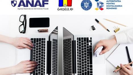 Încă un pas: Din Spațiul Privat Virtual se pot face plăți către ANAF cu cardul, prin ghiseul.ro
