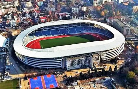 Aşa ar putea arăta viitorul stadion din Oradea!