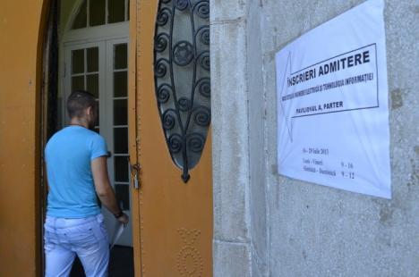 Începe admiterea la Universitatea din Oradea