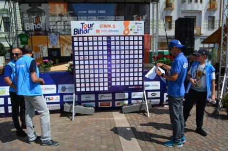 Slovenul Marko Kump a câştigat prima etapă a Turului Ciclist al Bihorului (FOTO)