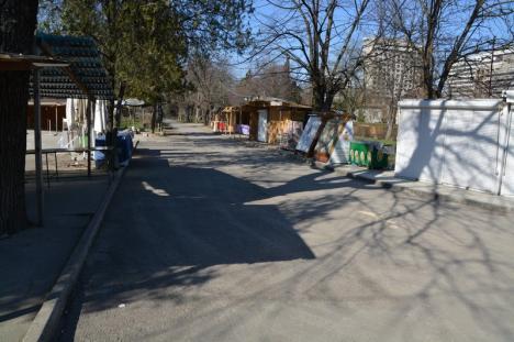 Staţiunea Băile Felix este pustie. Turiştii au plecat de teama infestării cu noul coronavirus (FOTO / VIDEO)