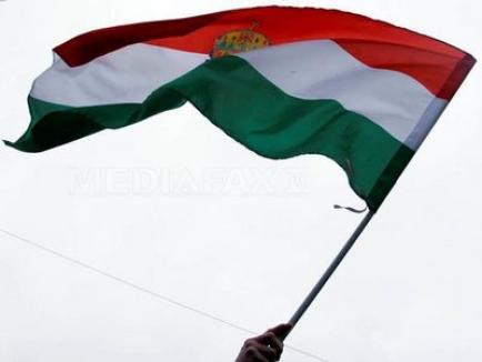 Ambasada Ungariei la Bucureşti, vandalizată
