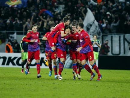Steaua a eliminat Ajax din Europa League!