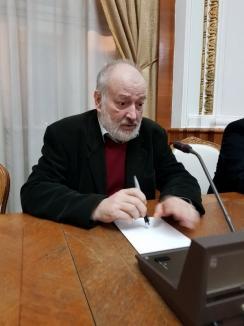 Stelian Tănase: 'Modernitatea se termină şi astăzi la Budapesta. Poate la Oradea' (FOTO)
