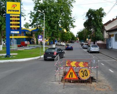 Atenţie lucrări! Strada Roman Ciorogariu se închide pentru trei săptămâni traficului auto