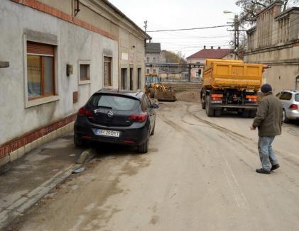 Ocoliţi! Traficul auto pe drumul rapid va fi blocat peste weekend pentru lucrări la canalizarea pluvială