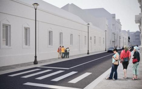 Încep lucrările de transformare a străzii Libertăţii din Oradea în arteră pietonală (FOTO)