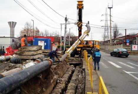 Strada Oneştilor va fi închisă pe sensul de mers spre Calea Aradului până pe 20 decembrie