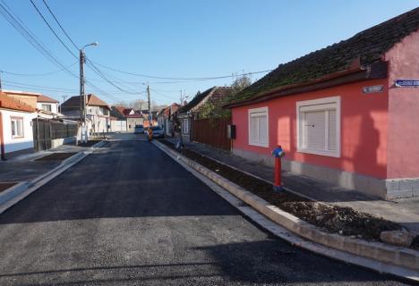 Șase străzi din cartierul Gutenberg sunt în curs de modernizare (FOTO)