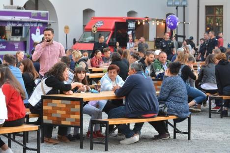 Street Food Festival a adus delicii, muzică şi filme în Cetatea Oradea (FOTO / VIDEO)