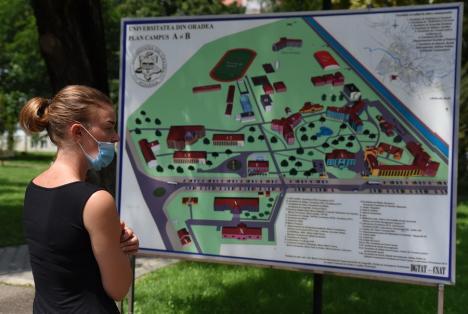 Cum va începe anul universitar la Oradea: Studenţii de la şase facultăţi rămân acasă, într-o cameră de cămin vor sta maxim trei tineri