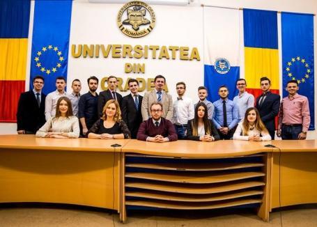 Studenţii din Senatul universitar şi-au ales preşedintele interimar