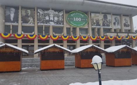 Modă de Oradea! Pentru că i-a plăcut ce a văzut la noi, primarul din Suceava a împodobit oraşul cu cocarde tricolore (FOTO)