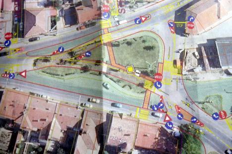 Primăria modernizează intersecţia străzii Horea cu Sucevei
