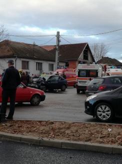 Accident grav pe DN 76: Cinci persoane au ajuns la spital! (FOTO)