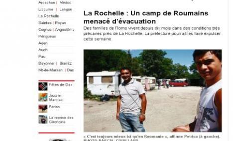 Accesul ţiganilor români, interzis într-un supermarket din Franţa