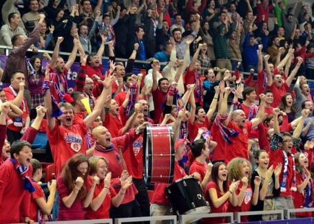 Încălziţi-vă vocea! CSM îşi cheamă suporterii să cânte la meciurile din finală (VIDEO)