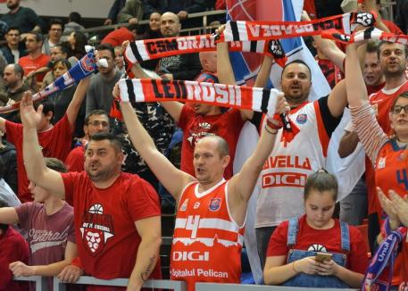 Baschet: CSM CSU Oradea joacă vineri și duminică, pe teren propriu, pentru calificarea în finală!