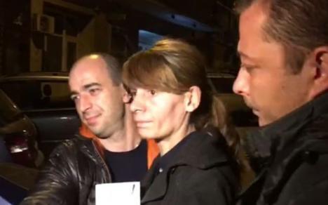 Ucigașa de la metrou a fost reţinută. Are 36 de ani şi are probleme cu capul...