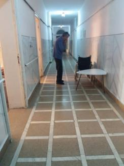 'Starea adevărată': Spitalul din Beiuş, invadat de gândaci (FOTO/VIDEO)