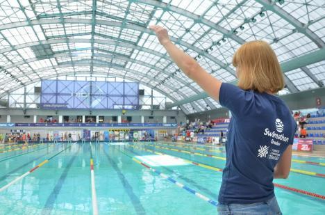 Swimathon Oradea 2020: Înotătorii şi ambasadorii proiectului, aşteptaţi să se înscrie