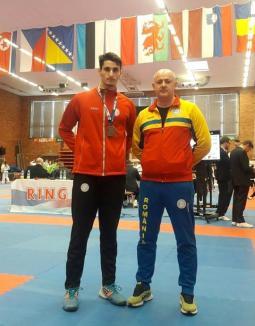Sportivul orădean David Sferle, medaliat cu bronz la Openul Cehiei la Taekwon-do ITF