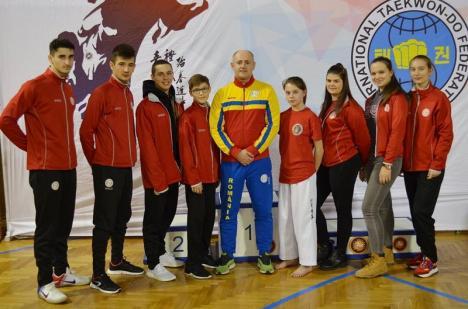 Sportivii de la King Do-Lions Oradea, protagoniştii delegaţiei României la Openul Serbiei la Taekwon-do ITF