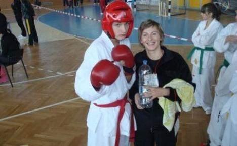 Orădeni pe podium la Cupa României de Taekwon-Do