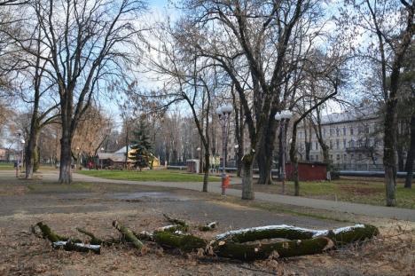 Parcul politrucilor: BIHOREANUL vă arată cum a fost transformat parcul Nicolae Bălcescu în 'jucăria' unei firme de partid (FOTO)