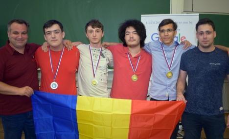 Un tânăr bihorean a luat medalia de aur la Olimpiada de Informatică a Europei Centrale