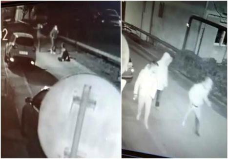 Imagini cutremurătoare: Tânăr de 24 de ani înjunghiat de mai multe ori în plină stradă! (VIDEO)