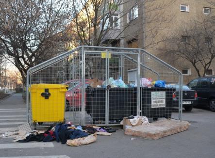 În 15 zile, aproape 600 de mormane clandestine de gunoi au răsărit în Oradea