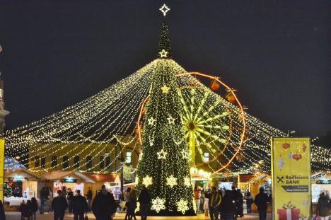 Târgul de Crăciun: Piaţa Unirii va găzdui concerte cu Inna şi Ştefan Hruşcă, dar şi colindători care vor umbla 'pe uliţă'