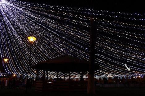 Marghitenii au un târg de Crăciun cu bunătăţi şi concerte (FOTO)