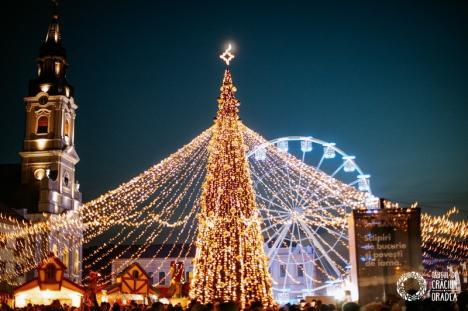 Târgul de Crăciun Oradea2019: 28 de zile cu peste 250.000 de participanți