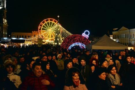 Zile de doliu naţional: Concerte amânate şi anulate la Târgul de Crăciun din Oradea