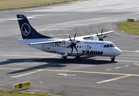 Aeronava Tarom care a plecat din Oradea spre Bucureşti a aterizat la Constanţa din cauza ceţii