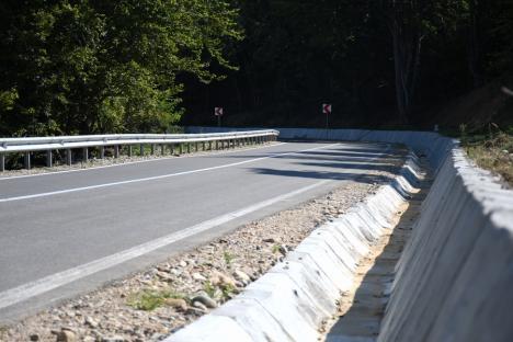 Şosea de aproape 20 de kilometri în zona Tăşad - Copăcel, modernizată(FOTO)