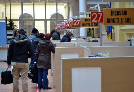 Municipalitatea va reîncepe încasarea taxelor şi impozitelor din 18 ianuarie