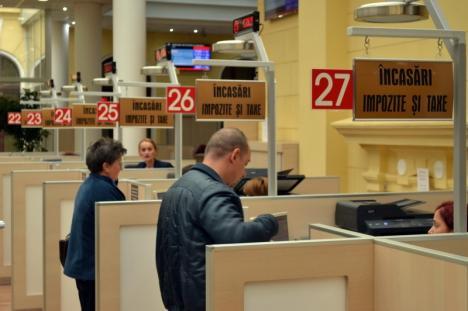 Poftiţi la ghişeu! Primăria Oradea a început încasarea impozitelor şi taxelor aferente anului 2018
