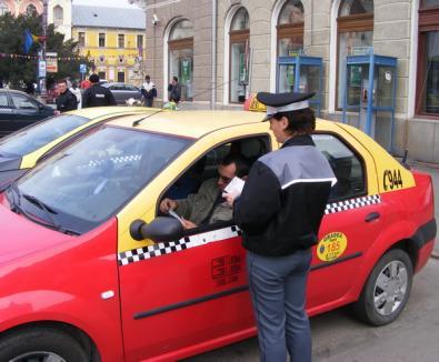 Taximetriştii, somaţi de Primărie să respecte parcările care le sunt rezervate